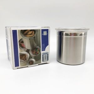 BergHOFF 2.5 Cups Silver Stainless Steel Canister